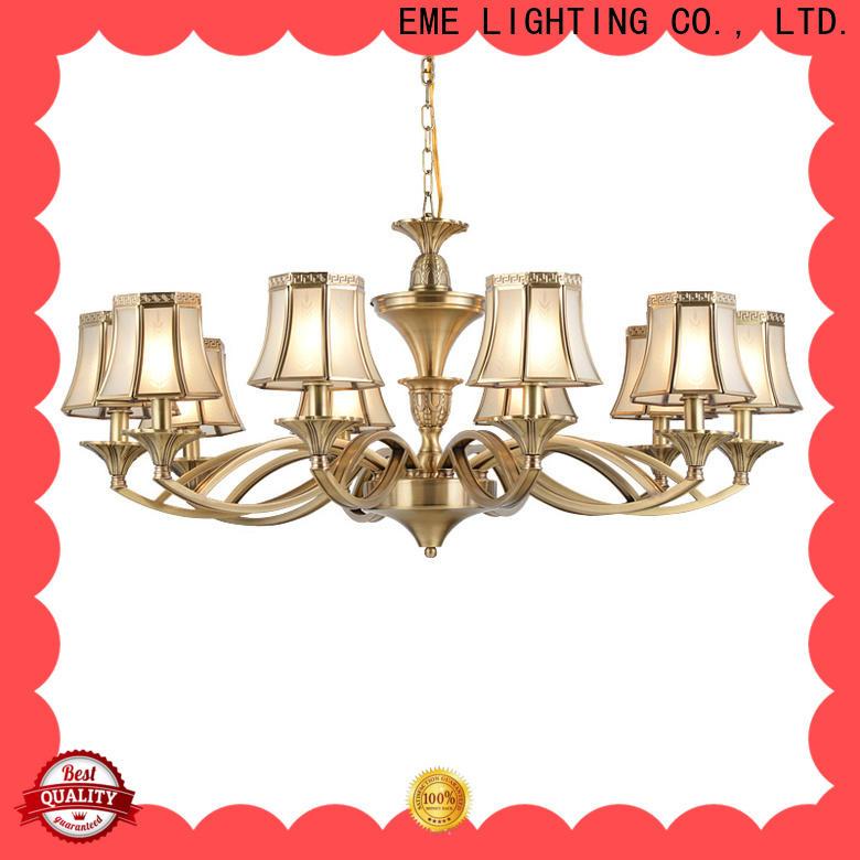 EME LIGHTING luxury chandelier over dining table European for big lobby