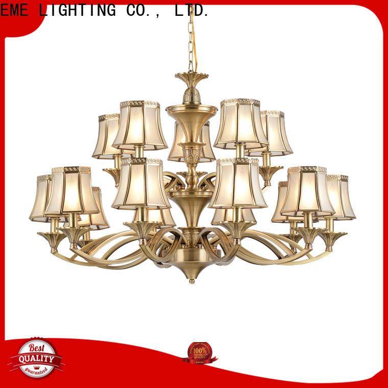 EME LIGHTING high-end copper lights vintage for big lobby