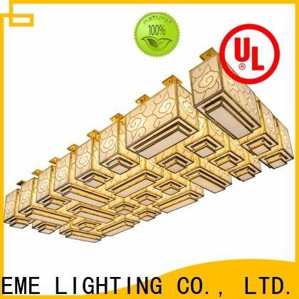 EME LIGHTING modern gold crystal chandelier for dining room