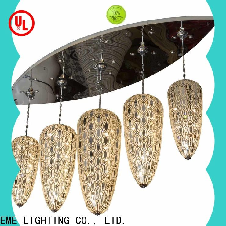 EME LIGHTING round acrylic crystal chandelier European style for lobby