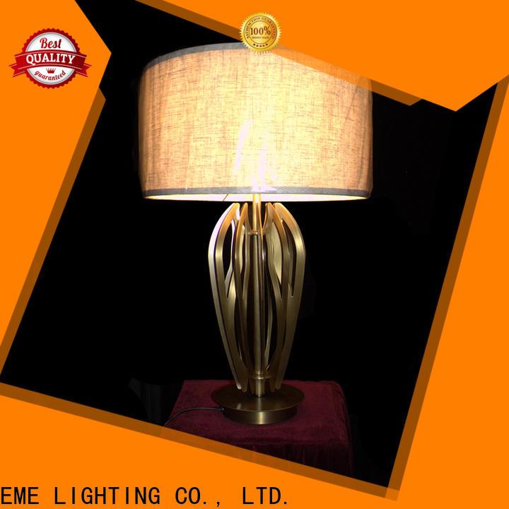 EME LIGHTING elegant glass table lamps for living room bulk production for study