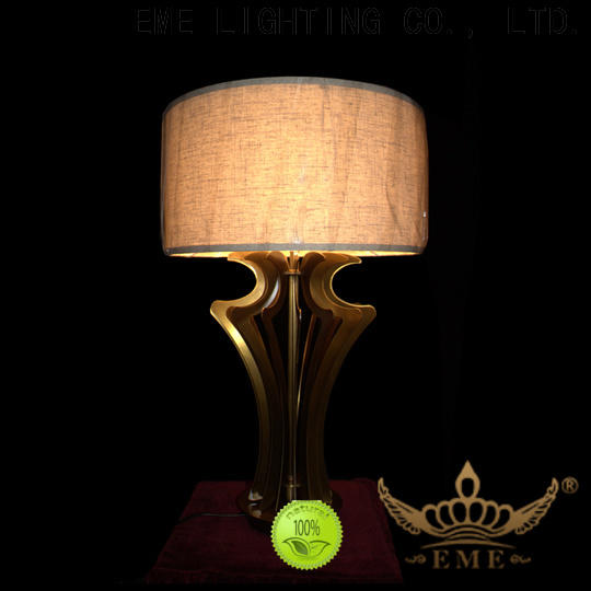 EME LIGHTING decorative glass table lamps for bedroom factory price for room
