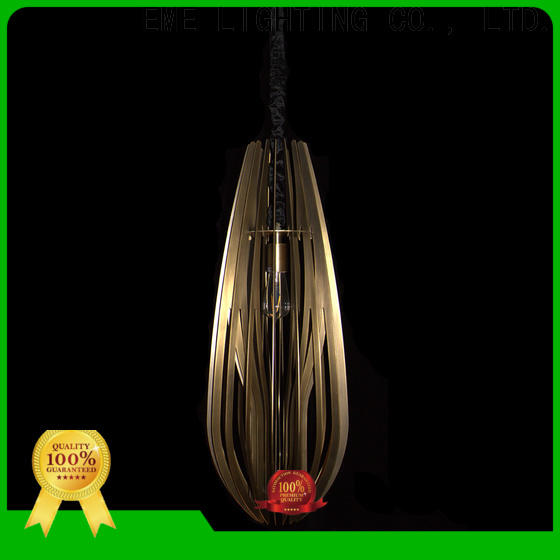 EME LIGHTING popular copper and glass pendant light at discount for bedroom