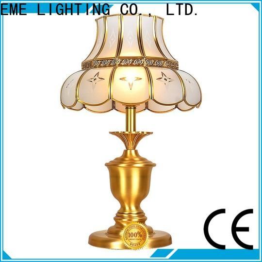 EME LIGHTING retro glass table lamps for bedroom bulk production for restaurant