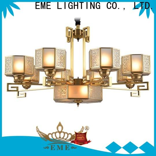 high-end antique brass chandelier large residential for dining room