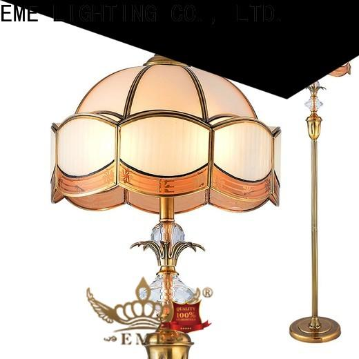 black modern floor lamp hanging flower pattern for bedroom