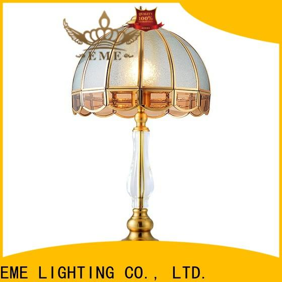 retro glass table lamps for bedroom unique design factory price for restaurant