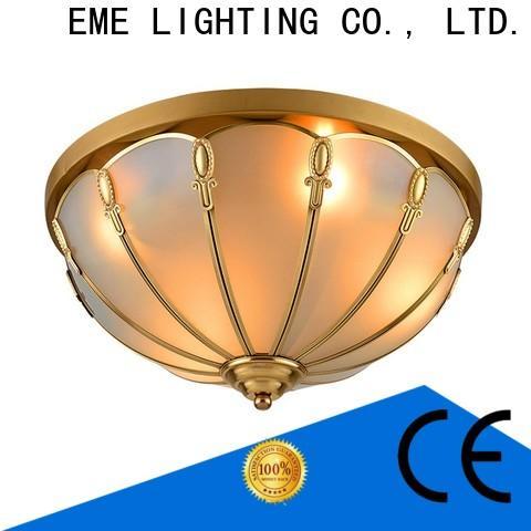 EME LIGHTING luxury brass ceiling lights European for dining room