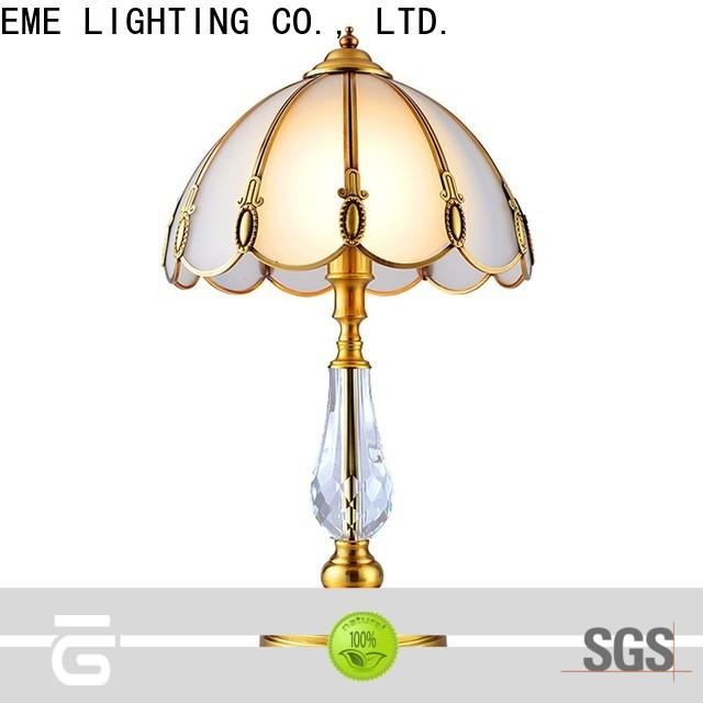 EME LIGHTING contemporary glass table lamps for living room cheap for study