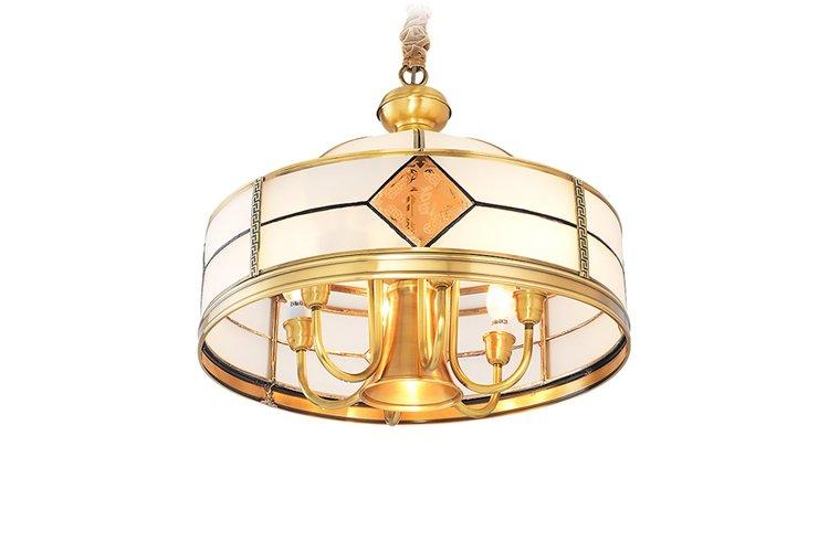 EME LIGHTING glass hanging chandelier over dining table residential for home-1