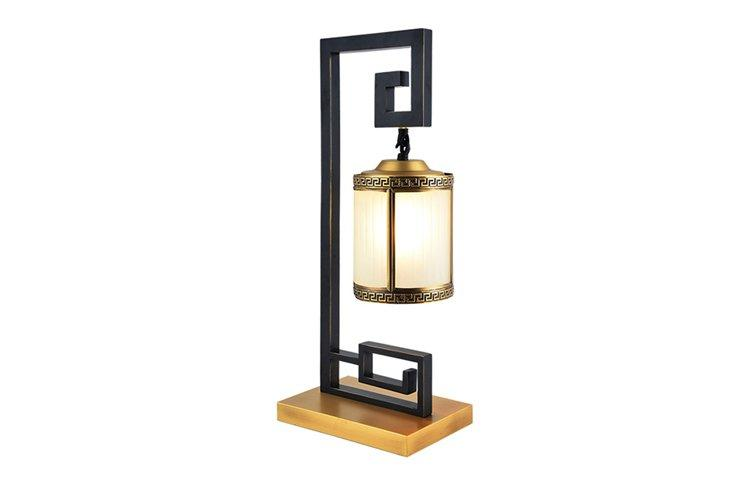 EME LIGHTING gold colored table lamp colored for bedroom-1