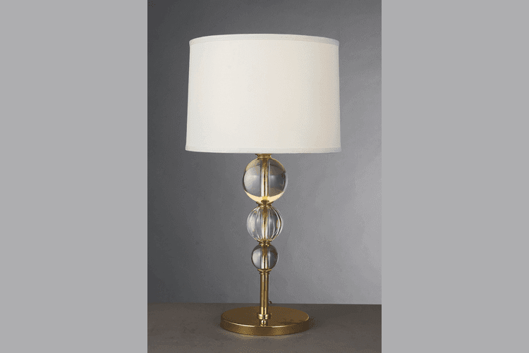 EME LIGHTING unique design glass table lamps for living room copper material for study-1