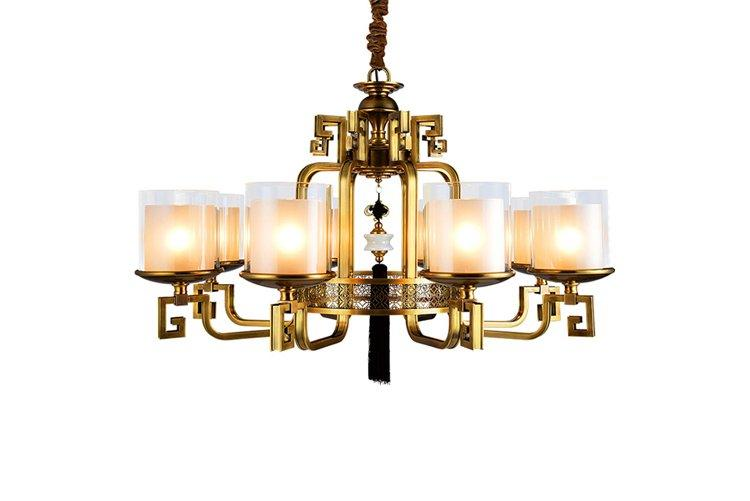 EME LIGHTING glass hanging chandelier manufacturers residential for big lobby-1
