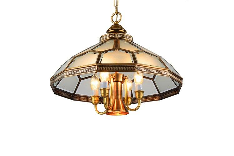 EME LIGHTING luxury solid brass chandelier traditional for big lobby-1