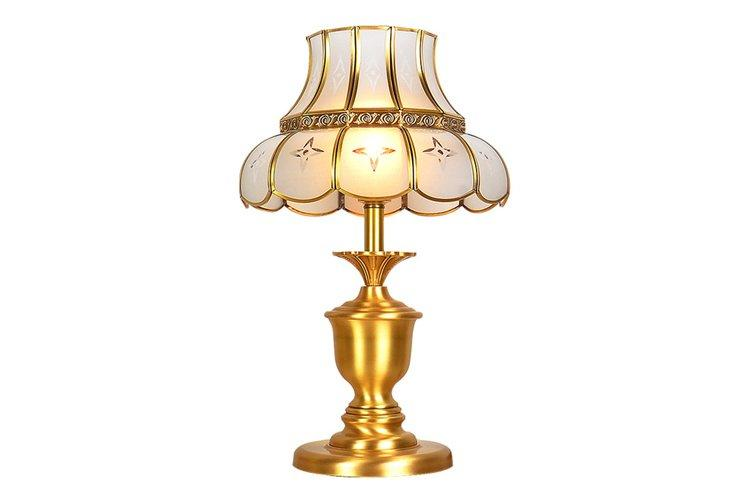 European style glass table lamps for living room cheap for room-1