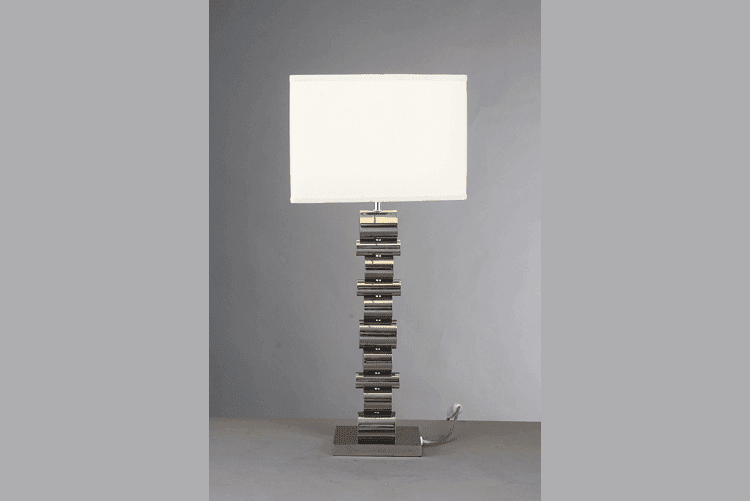 elegant glass table lamps for bedroom unique design brass material for room-1