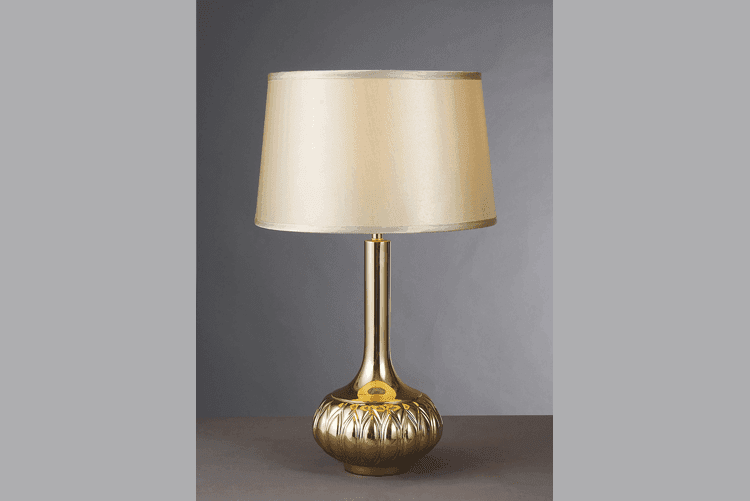 black colored table lamp luxury classic for bedroom-1