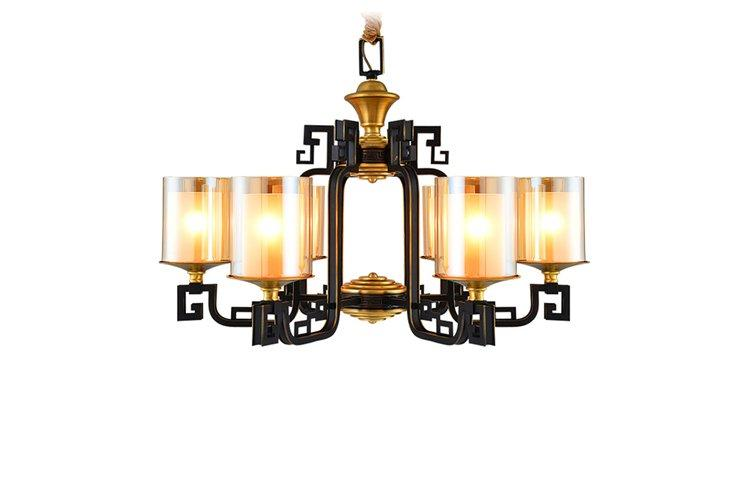 EME LIGHTING concise vintage brass chandelier unique for home-1