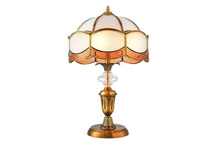 EME LIGHTING retro glass table lamps for living room brass material for study-1